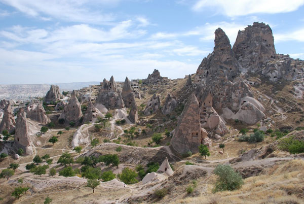 Hiking in the valleys of Cappadocia